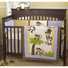 Monkey Crib Bedding Set by Cheap Crib Bedding Sets