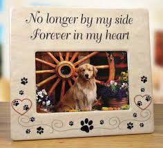 amazon com pet memorial ceramic picture frame no longer by my