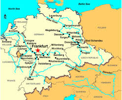 frankfurt on world map frankfurt map