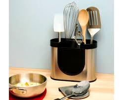 kitchen utensil canister kitchen excellent utensil holder brushed stainless steel ceramic