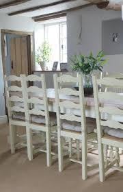 Caro Mi Dining Room - chiltern extending oak veneer and painted wood dining table