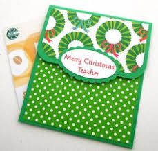 handmade teacher gift card holder any ocassion teacher cards