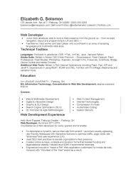 Software Developer Intern Resume Resume Python Developer Resume For Your Job Application