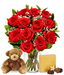 flowers and chocolate one dozen roses with godiva chocolates at from you flowers