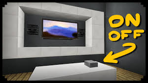 How To Say Living Room In Spanish by Minecraft How To Make A Working Tv Youtube