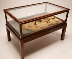 Display Case Coffee Table by Coffee Table Brant Point Diorama Coffee Table Rafael Osona