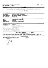 immatriculation chambre de commerce de l immatriculation au registre du commerce