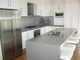 cuisine en blanc la cuisine de comptoir get green design de maison