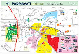 Iso Map Site Location Map I Padmavati Realities Nagpur