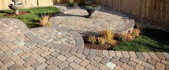 Simple Paver Patio Rumblestone November Articles Permeable Pavers And Green