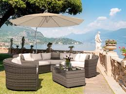 Rattan Curved Sofa Artelia Order Curved Sofa Suite Rondino For Your Garden Free Uk