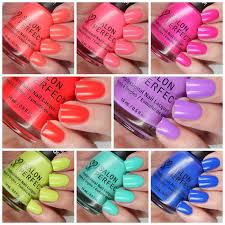 salon perfect summer 2016 neon pop collection swatches u0026 review
