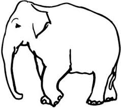 COLORIAGES Animaux  Elephants