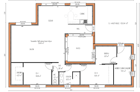 plans de cuisines plan de maison avec patio 4 chambres homewreckr co