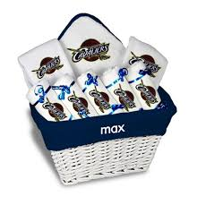 gift baskets chicago personalized cleveland cavaliers large gift basket mlb baby gift
