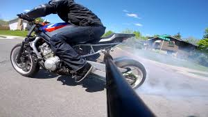 cbr 600 f2 streetfighter rolling burnout digital diary youtube