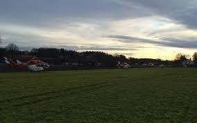 Krankenhaus Bad Aibling Drei Hubschrauber Der Drf Luftrettung Bei Tragischem Zugunglück In