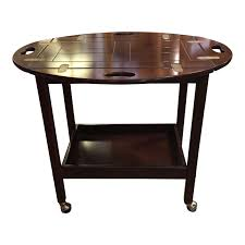 butler tray table cart on casters design plus gallery