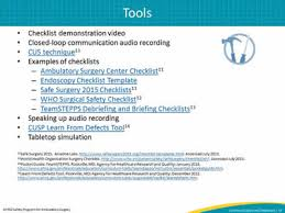 improving communication and teamwork in the surgical environment