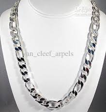 sterling silver necklace wholesale images Men sterling silver necklace images jpg
