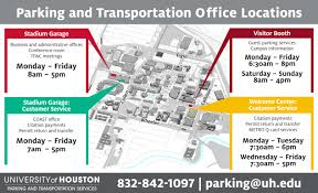 desk appearance ticket lookup rules and regulations university of houston