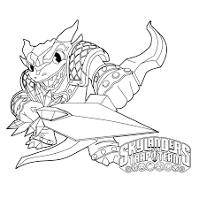 skylanders trap team coloring pages blackout coloringstar