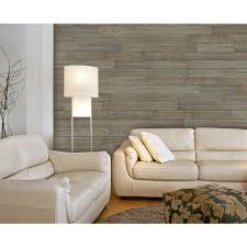 design innovations reclaimed wood 3 5 in x 4 ft aged cedar wall