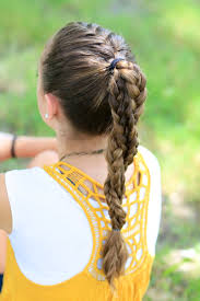 Cute Sporty Hairstyles The Run Braid Combo Hairstyles For Sports Cute Girls Hairstyles