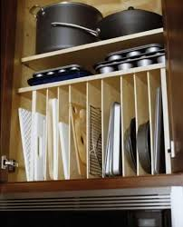 inside kitchen cabinet storage