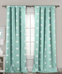 Seafoam Green Curtains Decorating Another Great Find On Zulily Seafoam Butterfly Heavy Blackout
