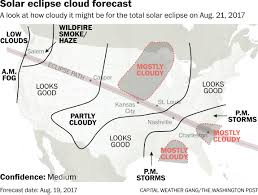us weather map clouds total solar eclipse weather forecast as of aug 19 the