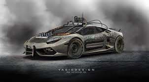 cars movie lamborghini 9 mad max car renders that should u0027ve made the movie