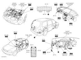 engine diagram kia sedona engine wiring diagrams instruction
