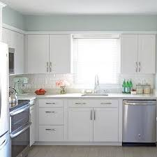 soothing blue kitchen paint colors design ideas