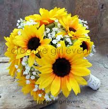 bouquet of sunflowers 68 best prom bouquets images on bridal bouquets prom
