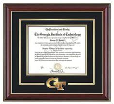 tech diploma frame solid rosewood tech diploma frame with gold seal and gold