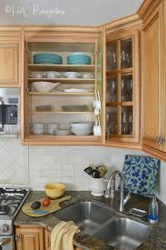 kitchen cabinet with shelves how to add shelves to kitchen cabinets h2obungalow
