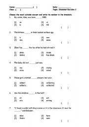 english teaching worksheets grammar practice