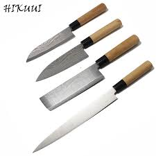 Best Home Kitchen Knives Best 4pcs Kitchen Knives Sets Japanese Stainless Steel Laser