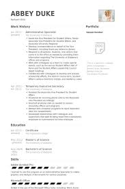 Procurement Specialist Resume Samples by Administrative Specialist Resume Samples Visualcv Resume Samples