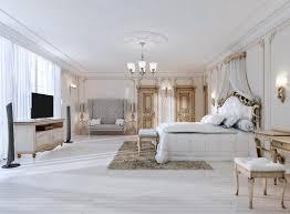 les couleures des chambres a coucher chambre à coucher luxueuse dans les couleurs blanches dans un style