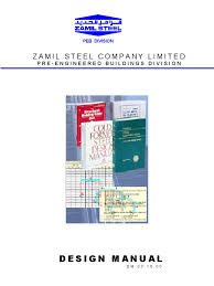 zamil steel design manual framing construction crane machine