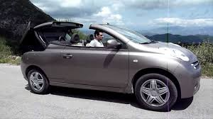 nissan awd convertible nissan micra c c convertible cabriolet roof hard top opening