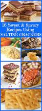 16 sweet and savory recipes using saltine crackers cracker