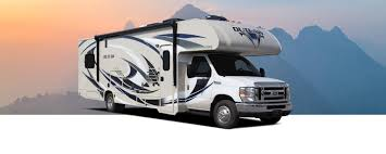 outlaw class c toy hauler motorhomes thor motor coach