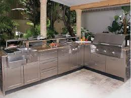 Barbecue Cabinets Modular Outdoor Kitchens And Also Outdoor Barbecue Sink And Also