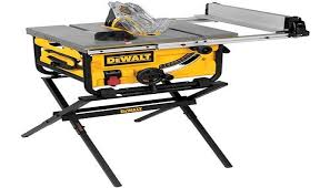 dewalt 10 portable table saw dewalt 10 inch dwe7480 compact job site table saw review tools