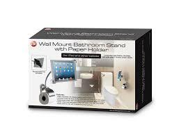 amazon com cta digital wall mount bathroom stand for ipad and