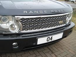 land rover vogue 2005 chrome supercharged grille conversion kit for range rover l322 03