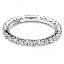 tacori wedding bands tacori 18kwg cresent collection eternity sculpted wedding band